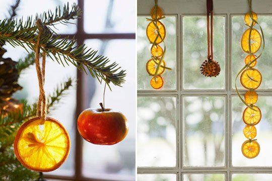 Natural Beauty in Your Fruit Bowl & Natural holiday decorating - KW Home